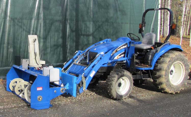 Snowvac Front Mounted Snowblowers For Commercial Trucks Tractors