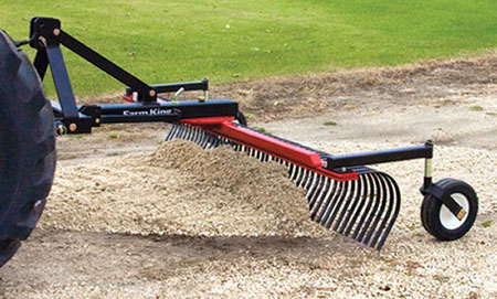 landscape rake - Farm King Landscape Rake For 3 Point Hitch Tractors