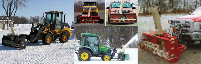 Snowvac Front Mounted Snowblowers For Trucks Pto Snow Blowers For
